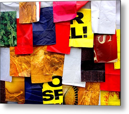 Paper Metal Print featuring the photograph Wallpaper 2 by Roberto Alamino
