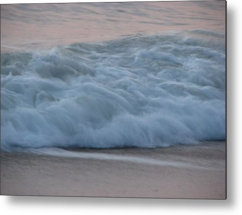 Ocean Metal Print featuring the photograph Wave by April Camenisch