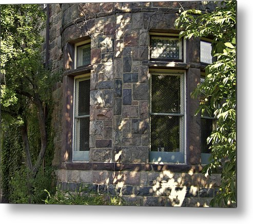 Facades Metal Print featuring the photograph Window Cove by Richard Gregurich