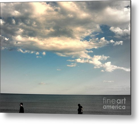 Wandering Metal Print featuring the photograph  Stray by Irene Spedicato