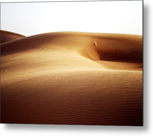 Sand Metal Print featuring the photograph 08021 by Jeffrey Freund