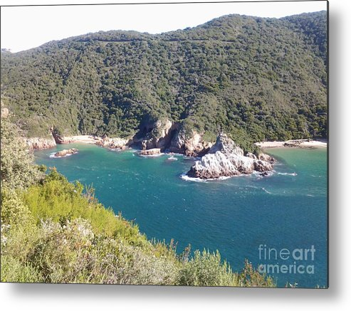 Blue Water Metal Print featuring the photograph Blue Water by Raymond Williams