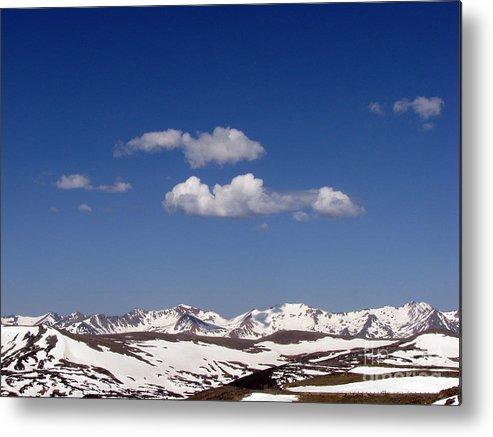 Mountains Metal Print featuring the photograph Colorado by Amanda Barcon