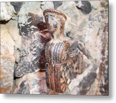 Fania Simon Metal Print featuring the photograph Findings On Goree Island by Eugene Simon