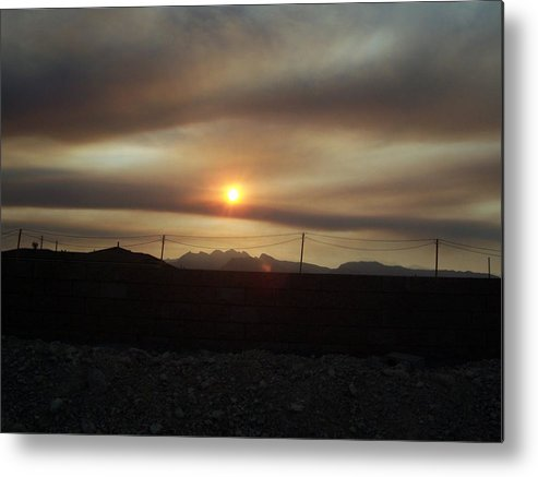 Sunset Metal Print featuring the photograph Nevada Sunset by Patricia Williams