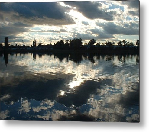 Sky Metal Print featuring the photograph Reflection by Jennifer Ott