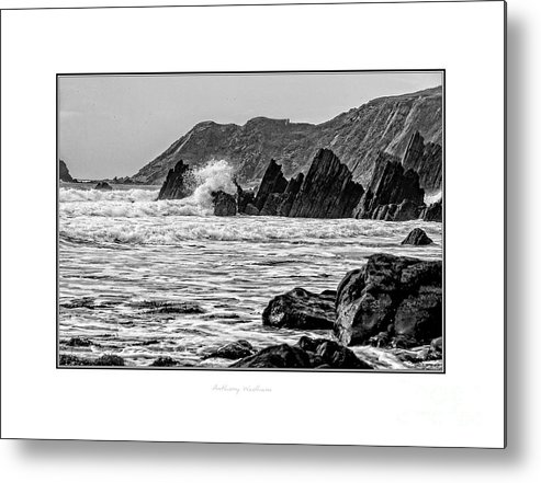 Landscape Metal Print featuring the photograph The Pembrokeshire Coast by Anthony Wadham