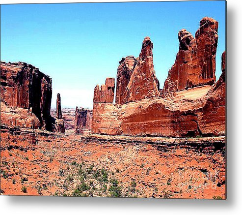 Arizona Metal Print featuring the photograph In Monument Valley, Arizona by Merton Allen