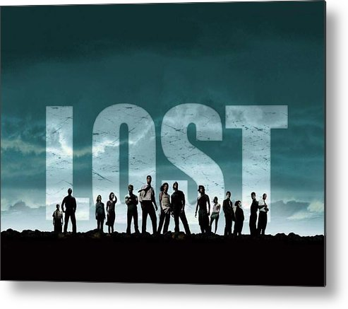 Lost Metal Print featuring the digital art Lost by Mery Moon