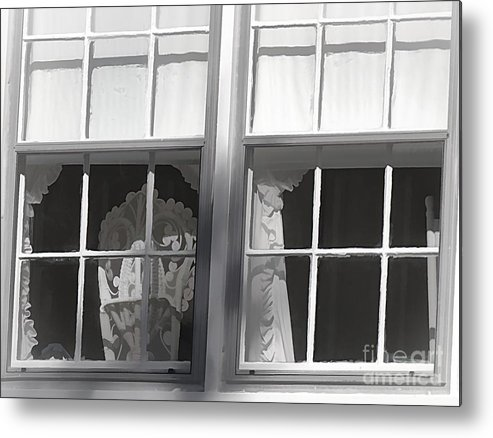 Window Metal Print featuring the photograph The Window by Paulette Thomas