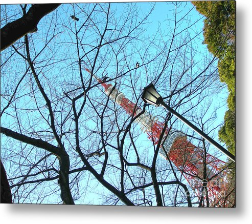 Tokyo Tower Metal Print featuring the photograph Tokyo Tower by Marie Loh