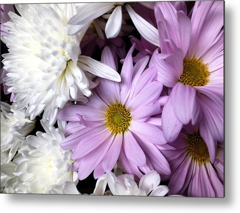 Metal Print featuring the painting Flowers by Lord Frederick Lyle Morris - Disabled Veteran