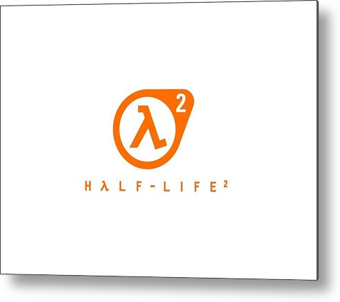 Half-life Metal Print featuring the digital art Half-life by Mery Moon