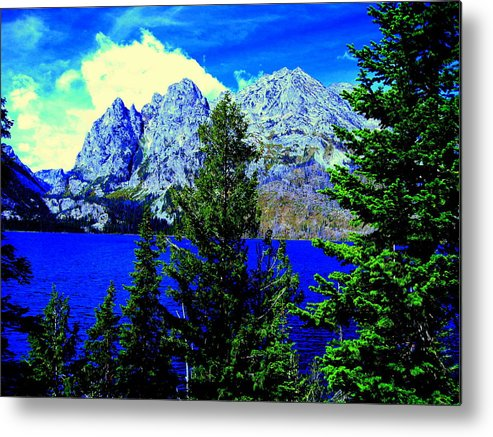 Lakeview Metal Print featuring the photograph Yellowstone Park by Aron Chervin