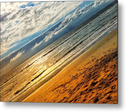 Beach Metal Print featuring the photograph A Dream At The Beach by Kory Redding
