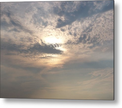 Jmw Turner Metal Print featuring the photograph A Turner Sky Over Assawoman Bay by Kevin Callahan