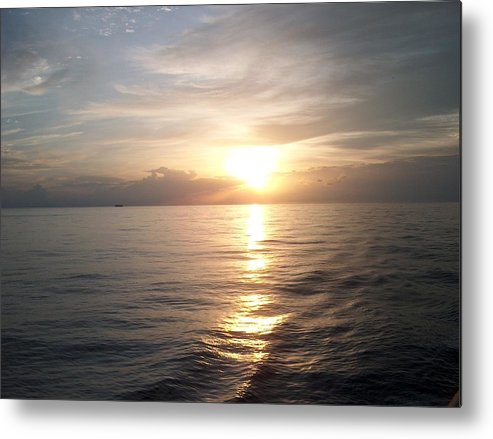 Sunset Metal Print featuring the photograph Acapulco Sunset by Janet Hall