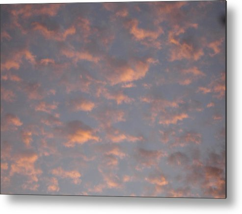 Skyscape Metal Print featuring the painting Afternoon Sky 11 by Roger Cummiskey