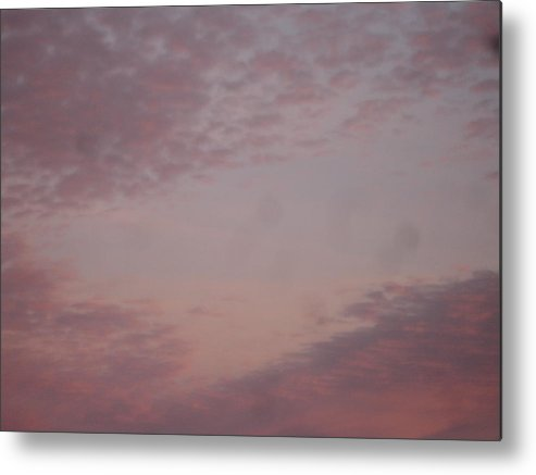 Skyscape Metal Print featuring the painting Afternoon Sky by Roger Cummiskey