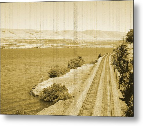 Metal Print featuring the photograph All Aboard by Bonnie Bruno