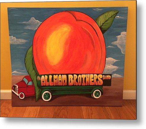 Allman Brothers Eat A Peach Metal Print