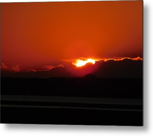 Sky Metal Print featuring the photograph Almost Gone by Arlane Crump
