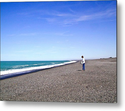 Alone Metal Print featuring the photograph Alone And At Peace by Douglas Barnett