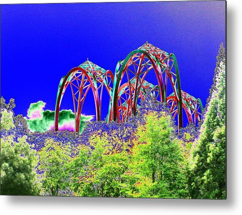 Seattle Metal Print featuring the photograph Arches 6 by Tim Allen