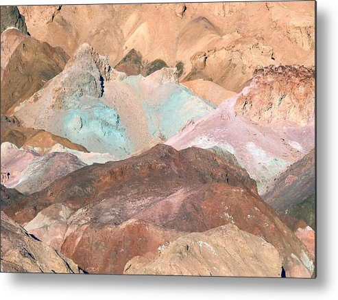 Nature Metal Print featuring the photograph Artist Palette by William Thomas