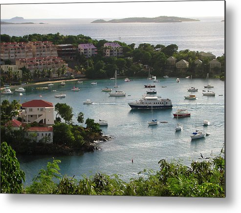 St. John Metal Print featuring the photograph At Last by Ginger Howland