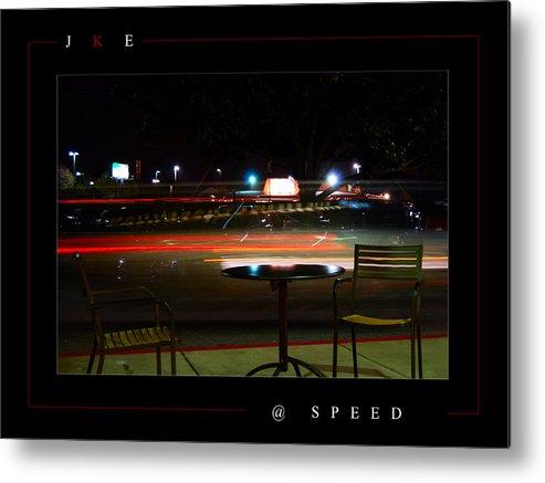 Starbucks Metal Print featuring the photograph At Speed by Jonathan Ellis Keys