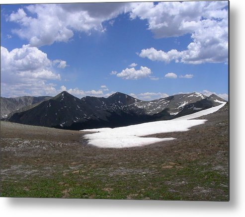 Mountains Metal Print featuring the photograph August by Peter McIntosh