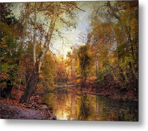 Autumn Metal Print featuring the photograph Autumnal Tones 2 by Jessica Jenney