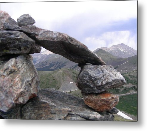 Mountain Metal Print featuring the photograph Balance by Peter McIntosh