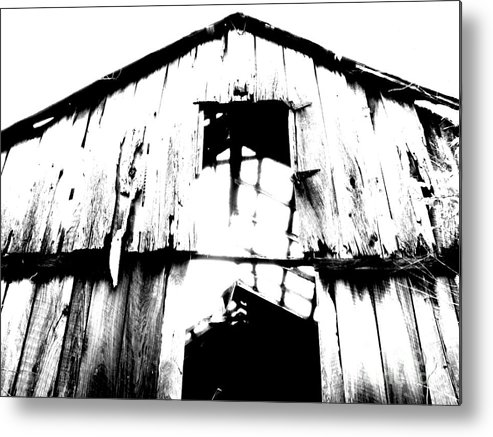 Barn Metal Print featuring the photograph Barn by Amanda Barcon
