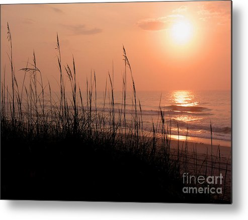 East Cost Metal Print featuring the photograph Beach Sun by Paul Boroznoff
