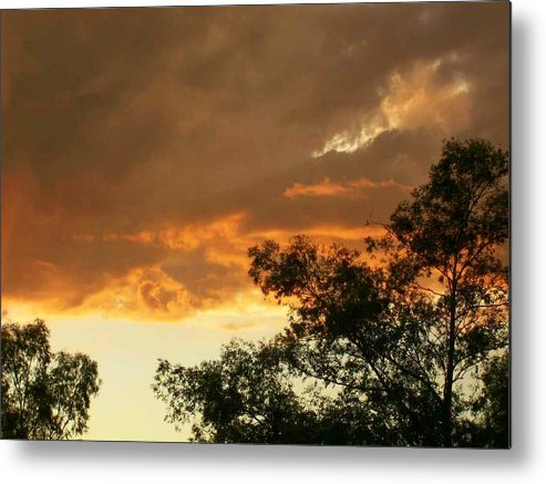 Metal Print featuring the photograph Bear Cloud by Kathleen Heese