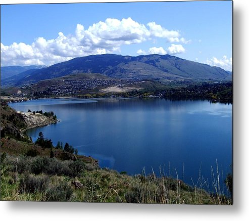 Lake Metal Print featuring the photograph Beautiful Okanagan Valley by Tiffany Vest