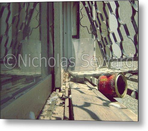 Metal Print featuring the photograph Bird In The Israel Window by Nicholas Seward