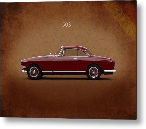 Bmw 503 Metal Print featuring the photograph Bmw 503 Coupe 1956 by Mark Rogan