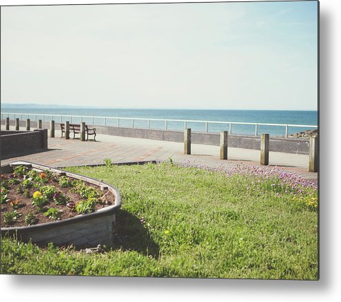Boat Metal Print featuring the photograph Boat Of Flowers by Lt Rose Photography