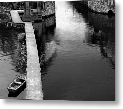 Boat Metal Print featuring the photograph Boats In The Rain by Todd Fox