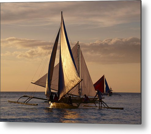 Boracay Metal Print featuring the photograph Boracay Philippines B 281 by Per Lidvall