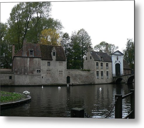 Landscape Metal Print featuring the photograph Brugge Belgium by Tammy Forristall