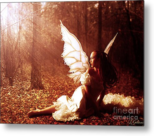 Fairy Metal Print featuring the digital art Called Home by Jennifer Gelinas