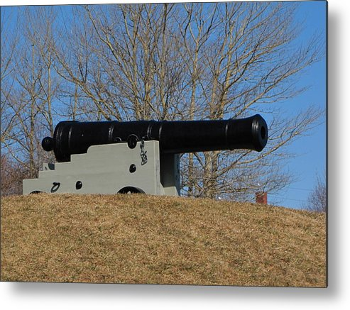 Canon Metal Print featuring the photograph Canon by Melissa Parks