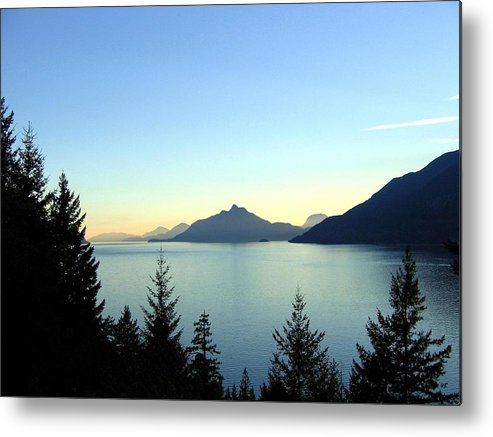 Howe Sound Metal Print featuring the photograph Captivating Howe Sound by Will Borden