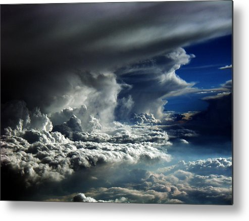 Aviation Art Metal Print featuring the photograph Cb2.085 by Strato ThreeSIXTYFive