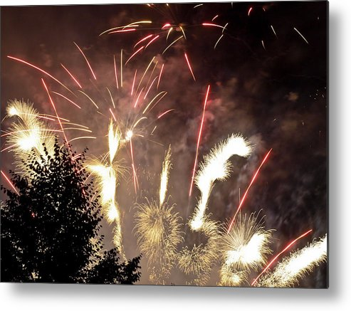 4th Metal Print featuring the photograph Celebration by Jim DeLillo