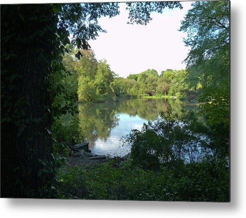 Central Park Metal Print featuring the photograph Central Park by Denise Adler